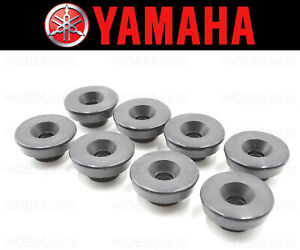 Set of (8) Valve Cover Bolt Seal Yamaha (RUBBER MOUNTING) #2GH-1111G-00-00