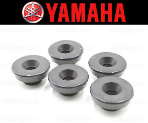 Set of (5) Valve Cover Bolt Seal Yamaha (RUBBER MOUNTING) #2GH-1111G-00-00