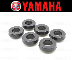 Set of (6) Valve Cover Bolt Seal Yamaha (RUBBER MOUNTING) #5EA-1111G-00-00