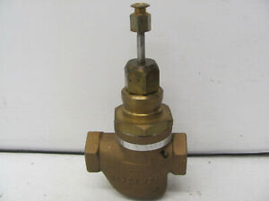 HONEYWELL BRONZE MIXING VALVE V5011A 1163 1 8406 34