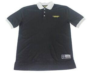 Golds Gym Staff Work Clothing Gear Polo Shirt Size Medium $14.85