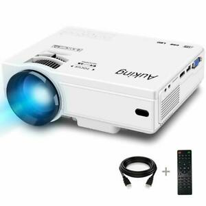 AuKing ADIB07MTCMHZX 2019 Upgraded Portable 55000 Hours Video-Projector
