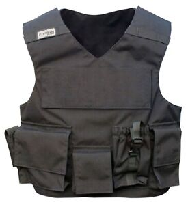 POINT BLANK BODY ARMOR R20D WITH POCKETS BLACK VARIOUS SIZES