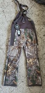 Under Armour UA Large L Womens Overalls  Hunting Bibs 1282692-947 Realtree Camo