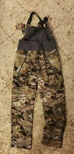 UNDER ARMOUR UA Hunting Bibs 1316697 940 Forest Camo Brow Tine (WOMEN'S LARGE)