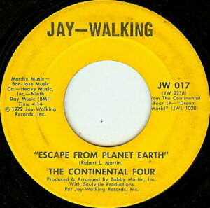Continental 4-Escape From Planet Earth  Take A Little Time (To Know Me) 7