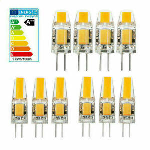 10X G4 LED COB AC DC 12V Mini Crystal Bulb Light 5W 6W Replace Halogen Lamp th