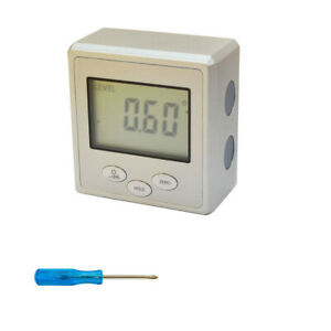 Angle Cube Digital Magnetic Protractor Gauge Level $36.77