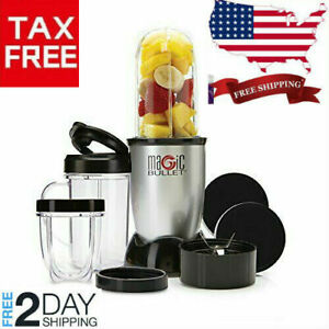 The Original Magic Bullet Blender & Mixer 250W Silver Small 11 Piece Set