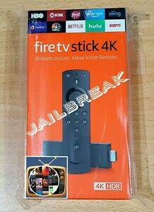 Fire TV Stick 4K Ultra HD with Alexa Voice Remote Unlock*d