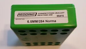 55415 REDDING COMPETITION SEATING DIE - 6.5MM284 NORMA - NEW - FREE SHIP