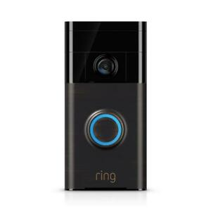 720P Wi-Fi Video Wired and Wireless Smart Door Bell Camera Works with Google Ho