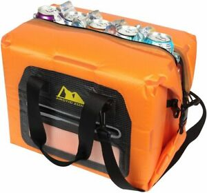 Arctic Zone 30 Can Self-Inflating Air Cooler One Size Orange