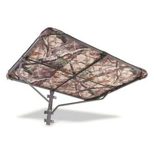 Deluxe Tree Stand Umbrella Steel Frame Fabric Water-Resistant Protects Rain Sun