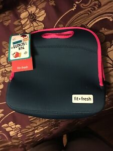 Fit And Fresh Insulated Lunch Bag Pvc Free