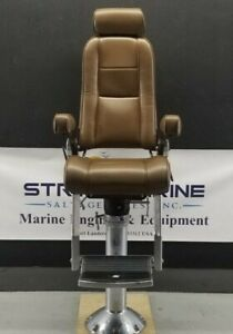 Stidd 500NXH Helm Chair With Pedestal Assembly Stainless Steel