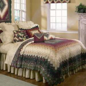 Donna Sharp Spice Trip Around the World Quilt Set -