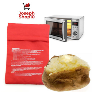Limited Time Offer Sale Microwave Potato Bag Perfect Oven Baked Potato in 4min