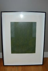 Framed Abstract Signed Pencil Numbered 72100 Lithograph Print by Jordi Teixidor