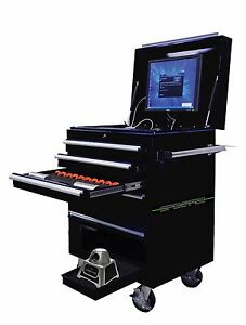 SPECTRE PLUS MULTI POINT LASER MEASURING-PRINT OUT-COMPUTER-CABINET-PRINTER