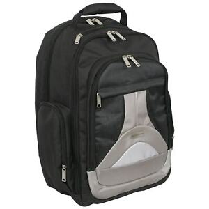 Geoffrey Beene Tech 17-inch Laptop Business Backpack Black