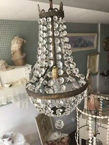 Sweet and Charming Vintage Chandelier - Shabby Chic