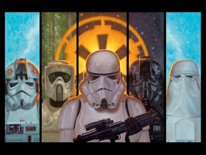 Star Wars Disciples of the Empire Limited Edition Lithograph
