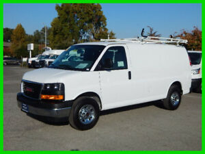 2018 GMC Savana Work Van Used 2018 GMC 2500 Savana Cargo Van - ROOF RACK
