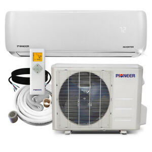Pioneer 9000 BTU Ductless Wall Mount Air Conditioner Heat Pump System (Open Box)
