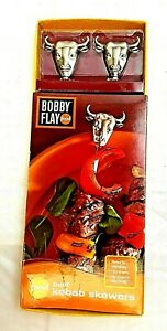 Bobby Flay Food Network Beef Kebab Skewers for Grill Cooking Kitchen Utensils