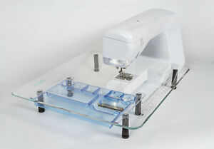 HANDI QUILTER HQ 710 STITCH Sew Steady Quilter#x27;s Wish Extension Table $149.00