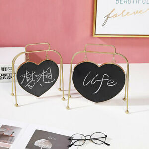 Nordic Style Mini Chalkboard Signs Blackboard Message Board with Stand