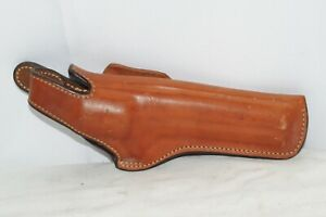 Bianchi 5BHL Leather Holster 38 357 Large Revolver Pre Owned
