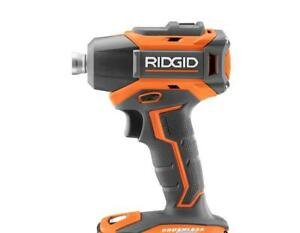 NEW RIDGID R86038 GEN5X 18 VOLT COMPACT CORDLESS BRUSHLESS 3 SPEED IMPACT DRIVER