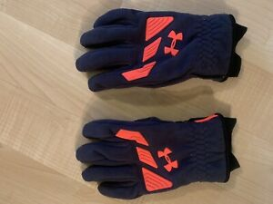 Men's UA Under Armour Storm Cold Gear Infrared Fleece Gloves Snow Board Ski Wow!