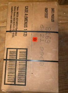 1 Cases MILITARY SPEC MRE  Case A Meals Ready To Eat.