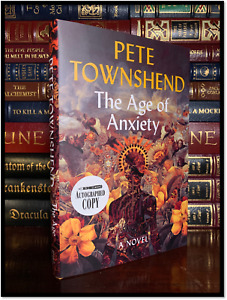 The Age Of Anxiety ✍SIGNED✍ by PETE TOWNSHEND New Hardback 1st Edition Print Who $79.99