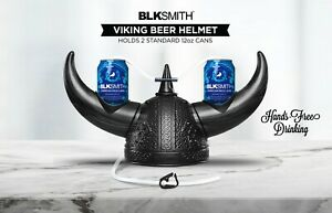 BLKSMITH Viking Beer Hat Helmet For Sports Tailgating and Parties
