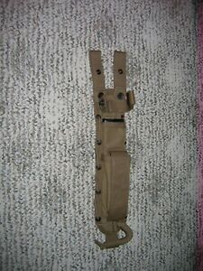 Spec-Ops Brand Combat Master Knife Sheath Large 8-Inch Coyote Brown. Excellent