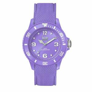 Ice Watch Ice Sixty Nine Purple Women's Wristwatch with Silicon Strap 0142