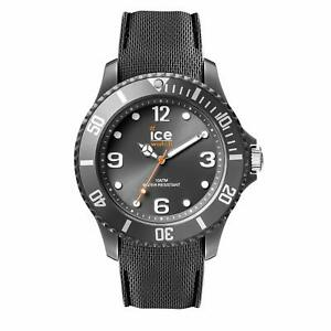 Ice Watch Ice Sixty Nine Anthracite Men's Wristwatch with Silicon Strap 00
