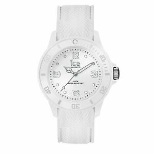 Ice Watch Ice Sixty Nine White Men's Unisex Wristwatch with Silicon Strap