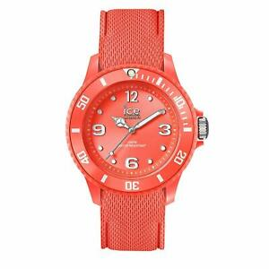 Ice Watch Ice Sixty Nine Coral Women's Wristwatch with Silicon Strap 01423