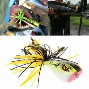 Spinner Sinking Artificial Cicada Frog Hard Fishing Lures Bass Bait Nakehead