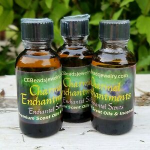 Scent Oils Cosmetic Grade A Enchanted Scents Diffuser Warmer Lava Bead Jewelry $9.23