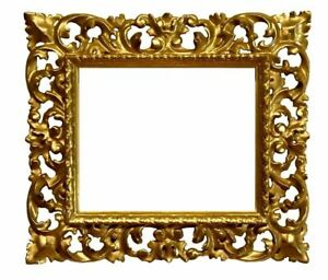 Italian 19th Century Carved Gilded Florentine Picture Frame 8x10 SKU 1366 $600.00