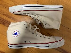 Vintage Converse Chuck Taylor All Star High Top Canvas Men's Shoes Sz. 13.5