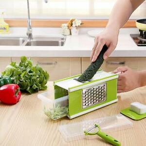 Multifunctional Kitchen Slicer 5 in 1 Boxed Grater with Storage