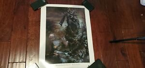 Bloodborne Forbidden Woods Lithograph Official Poster RARE From Software 254300