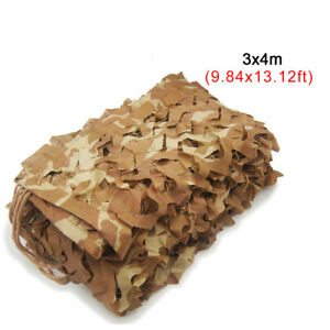 Woodland Camouflage Hunting Netting Camo Hide Camping Outdoor Shelter 10x13 ft